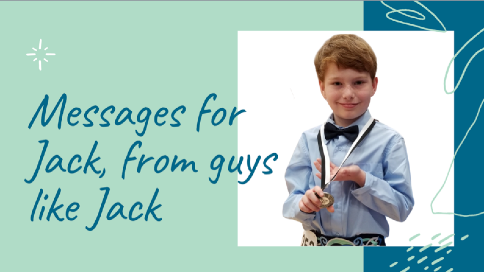 Messages for Jack, From Guys Like Jack
